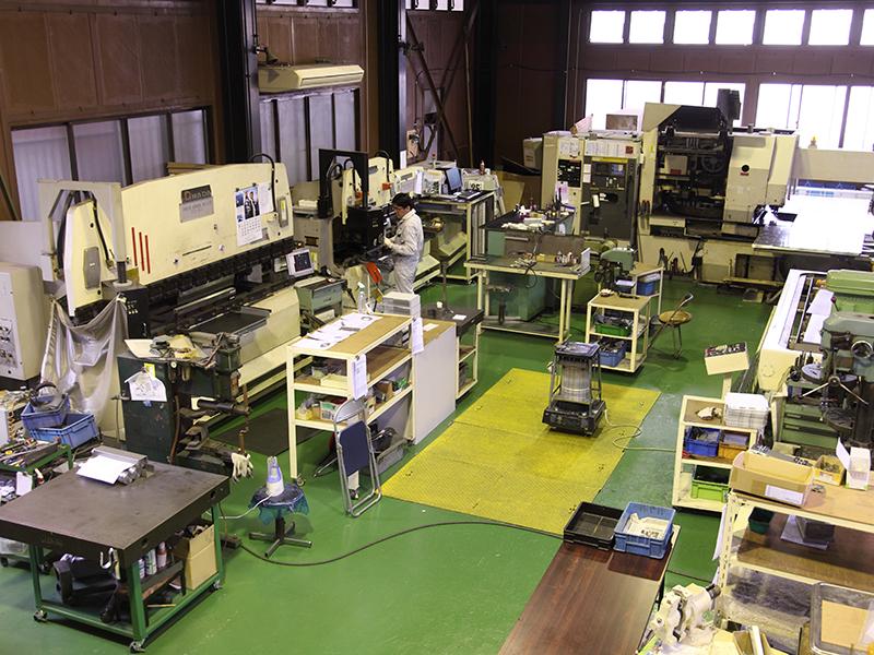 株式会社アクトの自慢の設備 -加工技術センター