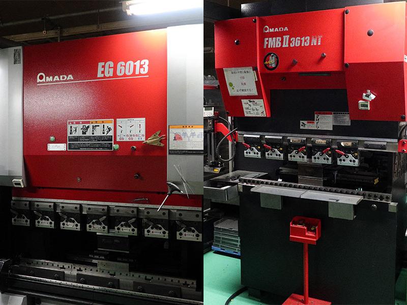 株式会社神村製作所の自慢の設備 -ベンディングマシン(AMADA RG)