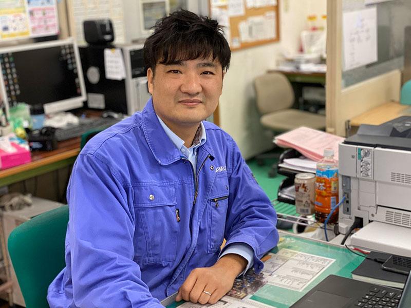 株式会社神村製作所の一押しスタッフ -趙 躍祥