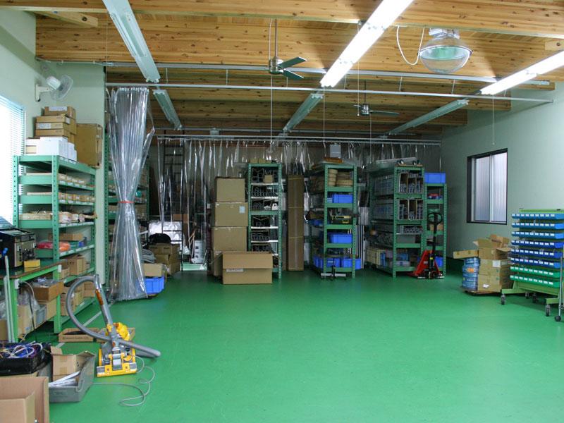 木下電子工業株式会社の自慢の設備 -第2工場
