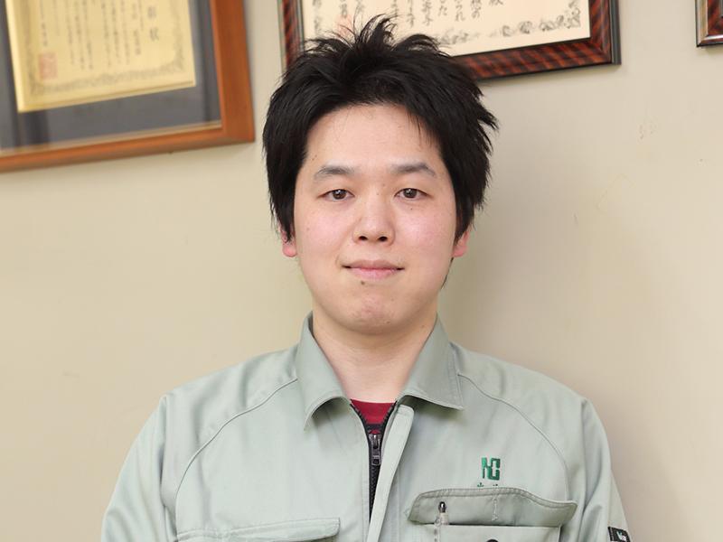 株式会社キョークロの一押しスタッフ -畑井 一希