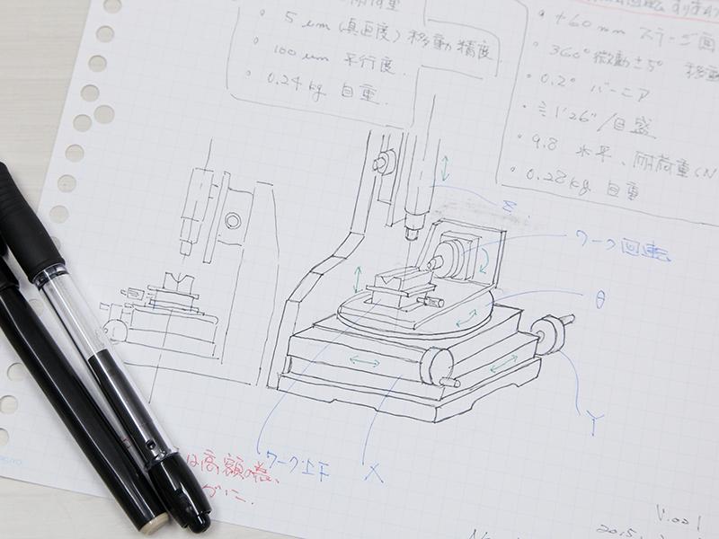 株式会社ニューネクストのオススメ試作 - まんがで機械(機会)を創ります。私たちがコミックアーティスト