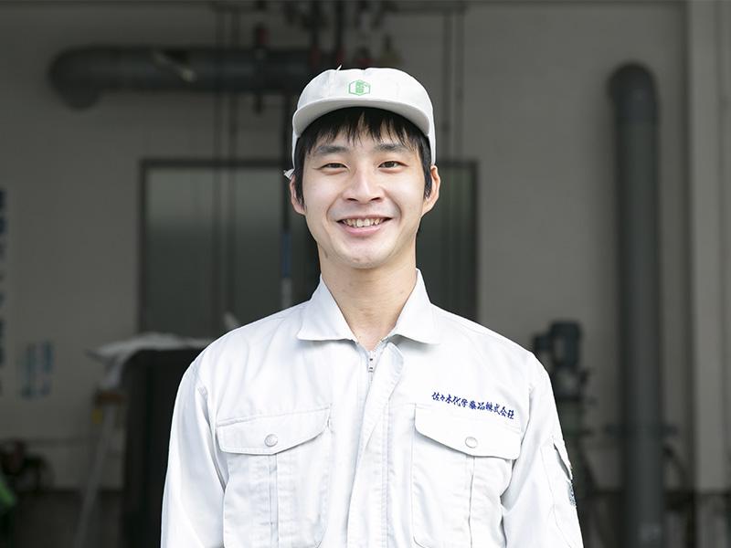 佐々木化学薬品株式会社の一押しスタッフ -西戸 雅和