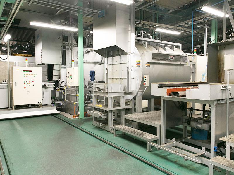 ユーハン工業株式会社の自慢の設備 -光洋サーモシステム/KCF浸炭焼入炉