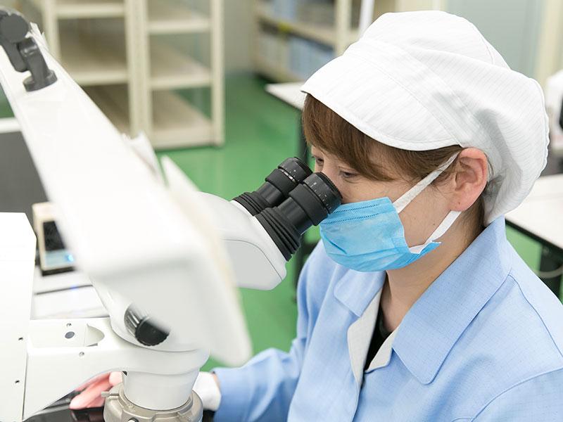 宇治電器工業株式会社のオススメ試作 - 電子部品の顕微鏡検査