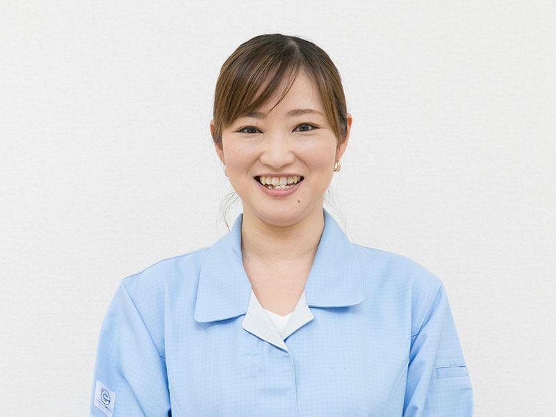 宇治電器工業株式会社の一押しスタッフ -製造部 主任 寺井静香