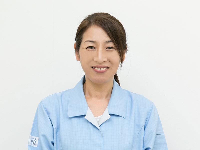 宇治電器工業株式会社の一押しスタッフ -製造部 主任 松岡一登実