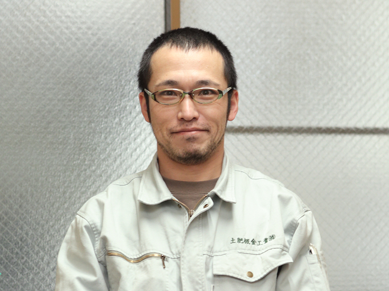 土肥板金工業株式会社の一押しスタッフ -中路 智也