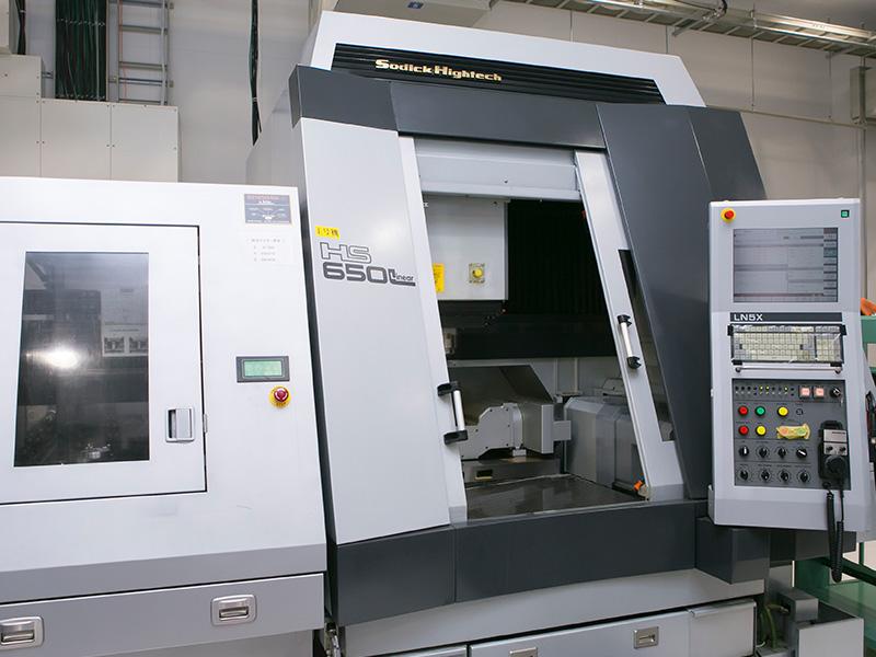 ヒロセ工業株式会社の自慢の設備 -ソディック HS650L-linear