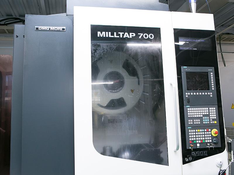 ヒロセ工業株式会社の自慢の設備 -DMG森精機 MILLTAP700