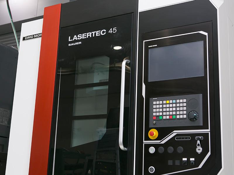 ヒロセ工業株式会社の自慢の設備 -DMG森精機  LASERTEC45 Shape