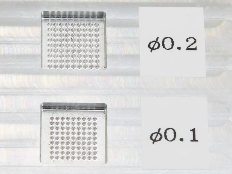 ヒロセ工業株式会社のオススメ試作 - 微細ピン残し加工