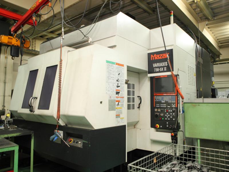 株式会社名高精工所の自慢の設備 -同時5軸複合加工機 (VARIAXIS 730-5XⅡ)
