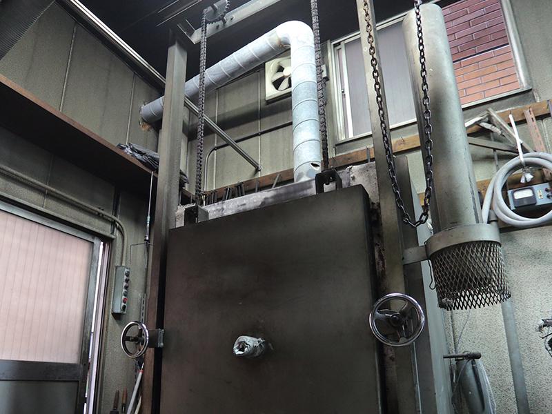株式会社ナカムラ理化の自慢の設備 -徐冷炉