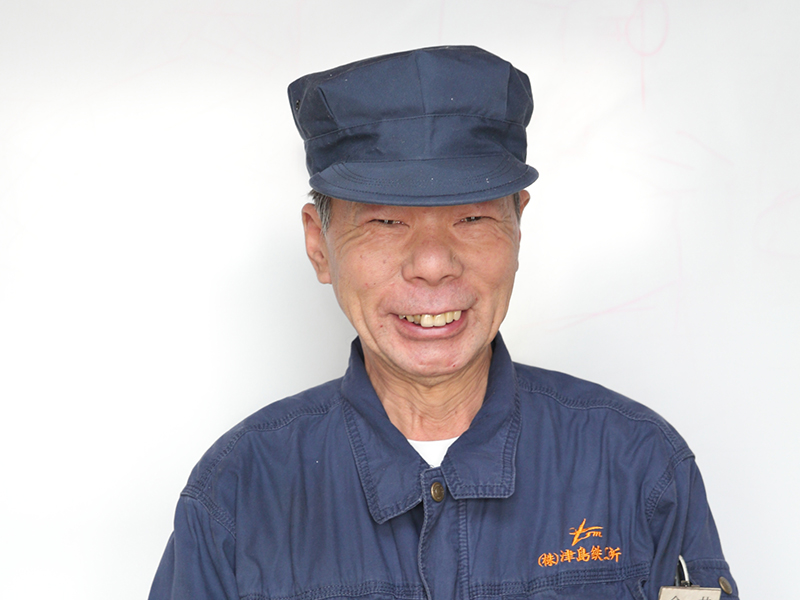 株式会社津島鉄工所の一押しスタッフ -今井 功