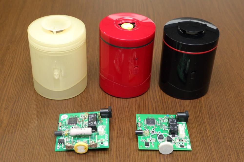 共進電機株式会社の試作実績:電子香炉
