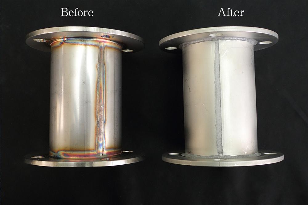 佐々木化学薬品株式会社の試作実績:溶接焼け除去剤 エスピュアSJ-400 / エスピュアSJジェル